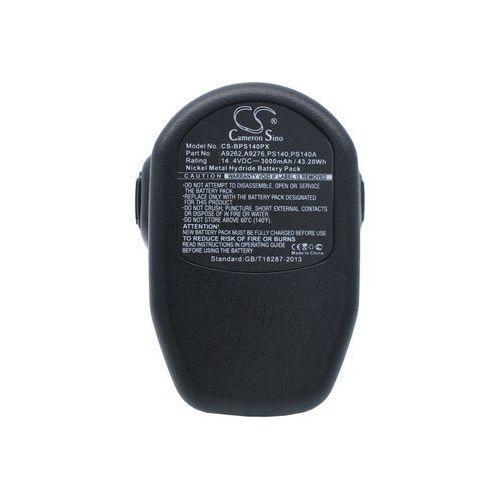 Black&Decker CD1402K2 / A9262 3000mAh 43.20Wh Ni-MH 14.4V (Cameron Sino)