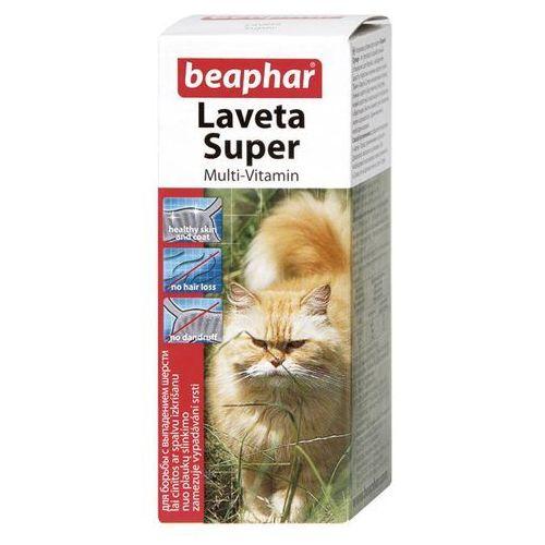 Beaphar Laveta super katze 50ml - preparat na sierść dla kota