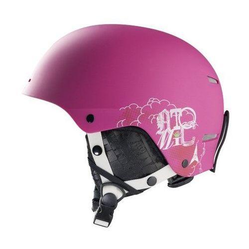 Dziecięcy kask narciarski troop jr pink m (55-58 cm) marki Atomic