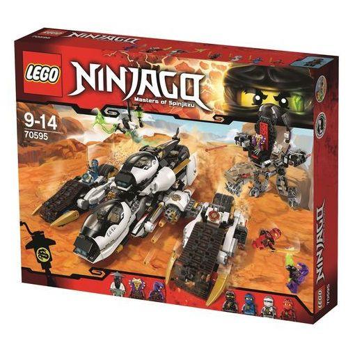 Lego Ninjago Niewykrywalny pojazd ninja 70595, klocki