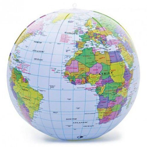 Dmuchany globus marki Majdan zabawek