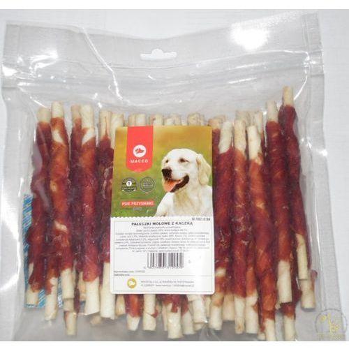 MACED Przysmak dla psa - pałeczki wołowe z kaczką 500g