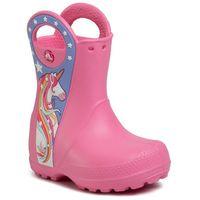 Kalosze CROCS - Crocsfl Uncrn Ptch Rain Boot G 206175 Pink Lemoniade