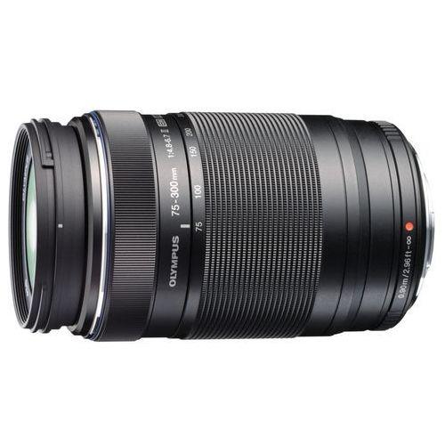 Olympus m.zuiko ed 75-300mm f/4.8-6.7 (czarny) - produkt w magazynie - szybka wysyłka! (4545350043742)