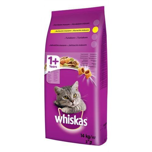 Whiskas kurczak 14kg