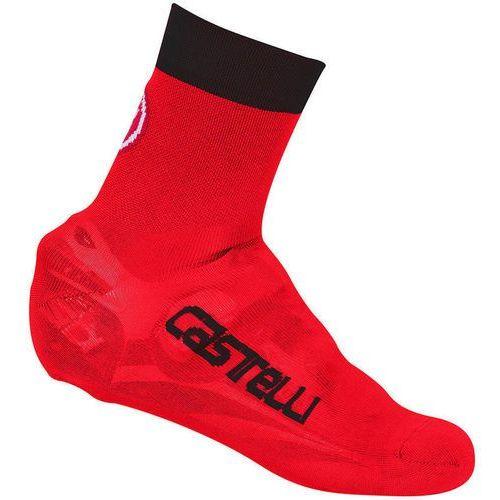 Castelli Belgian 5 Osłona na but czerwony L-XL   40-43 2018 Ochraniacze na buty i getry (8055688542757)