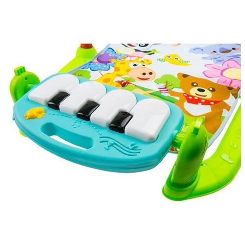Interaktywna mata edukacyjna z zabawkami + pianino 698-55a marki Ibaby