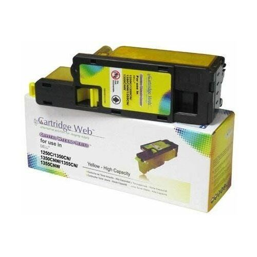 Cartridge web Toner cw-d1660yn yellow do drukarek dell (zamiennik dell xy-7n4 / 59311131) [1k]