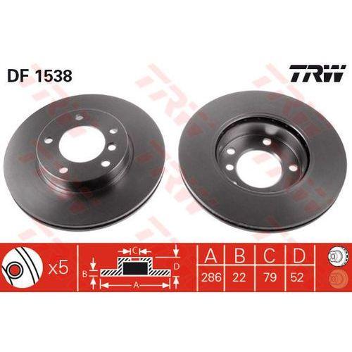 TARCZA HAM TRW DF1538 BMW E36 318I 93-98, 318TDS 95-98, 320I 90-98, E46 316I 02-05