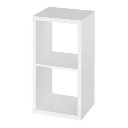 Regał mixxit 2-komorowy 73,6 x 39 x 33 cm biały marki Form