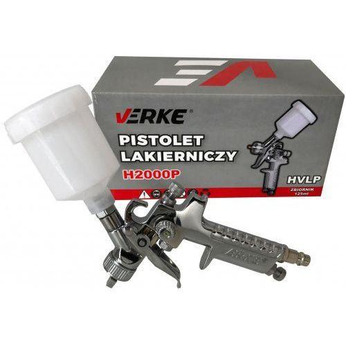 Verke Pistolet lakierniczy hvlp h2000p 1,0mm 125ml