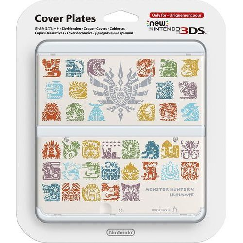 Nakładka Nintendo na New 3DS - Monster Hunter 4 (Biała) - Nintendo