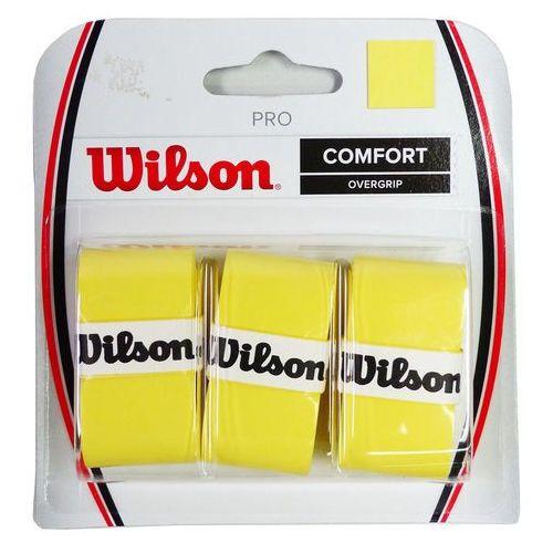 Wilson  pro overgrip x3 gr yellow, kategoria: tenis ziemny