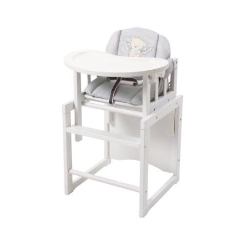 roba Krzesełko do karmienia Heartbreaker białe inkl. wkładka redukcyjna
