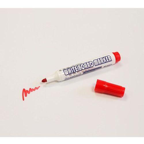 Czerwony marker suchościeralny do pisania na planerach i białych tablicach marki Granit