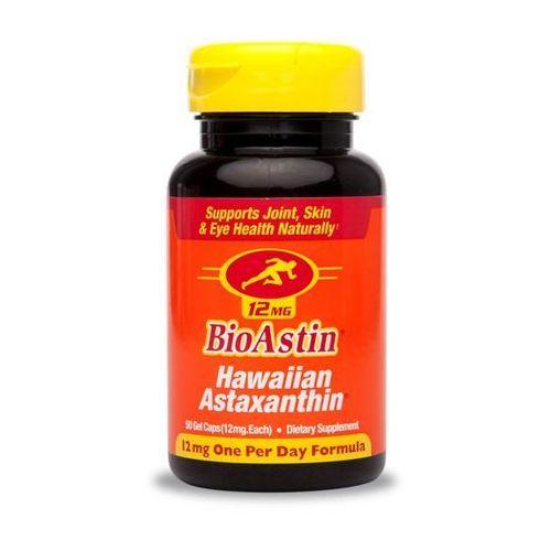 Bioastin Astaksantyna duża dawka 12mg 50kap. - silny antyutleniacz Kenay