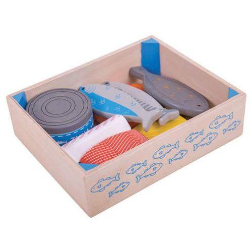 Przysmaki z morza - drewniana zabawka dla dzieci