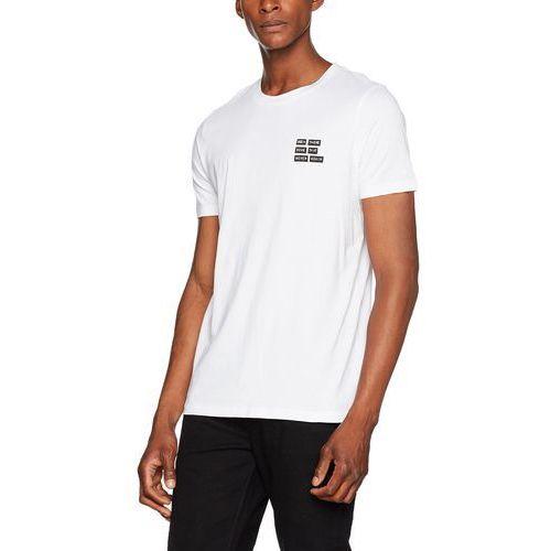 Hugo Men męski T-shirt dords - m biały (White 100), kolor biały