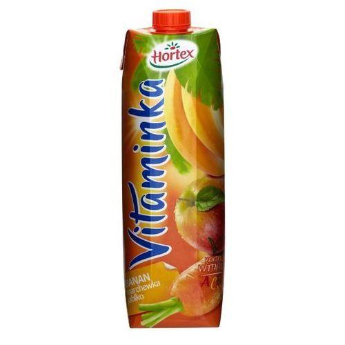 HORTEX 1l Vitaminka Banan marchewka jabłko Sok | DARMOWA DOSTAWA OD 150 ZŁ! - produkt z kategorii- Napoje, wody, soki