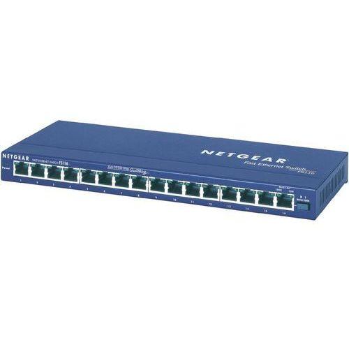 Switch  fs116ge, 16 portów, 100 mbit/s marki Netgear