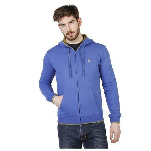 Bluza Męska U.S. Polo 42275 49333 Niebieska, kolor niebieski
