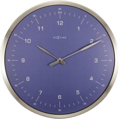 - zegar ścienny 60 minutes - niebieski marki Nextime