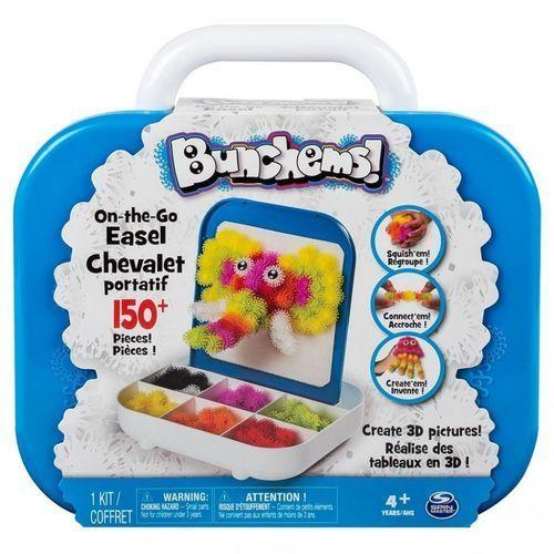 Bunchems kolorowe rzepy - zestaw podróżny marki Spin master