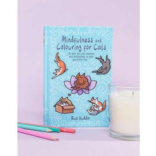 Books Mindfulness and colouring for cats book - multi