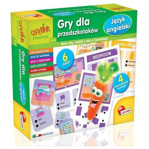 Liscianigiochi Gry dla przedszkolaków język angielski, carotina -