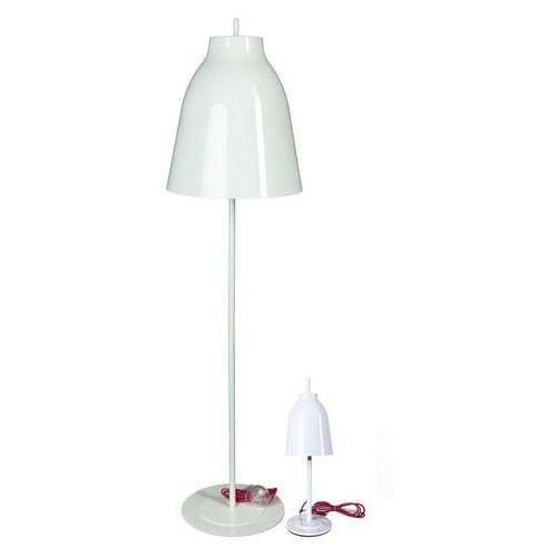 Lampa podłogowa Bell inspirowana Caravaggio - biały, kolor biały