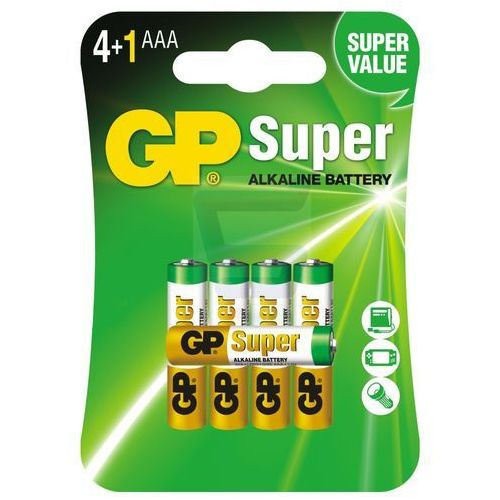 5 x bateria alkaliczna  super alkaline lr03/aaa marki Gp