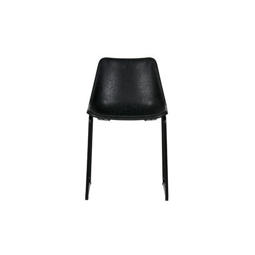 krzesło set of 2 czarne vintage 375459-z marki Woood