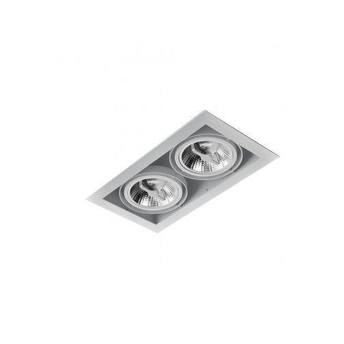 SQUARES 111x2 230V Phase-Control wpuszczany biały 35112-0000-U8-PH-03, 004045-006739