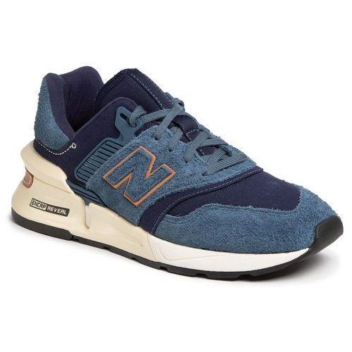Sneakersy NEW BALANCE - MS997LOI Granatowy, kolor niebieski