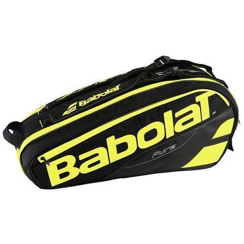 pure aero x6 - black/fluo yellow marki Babolat