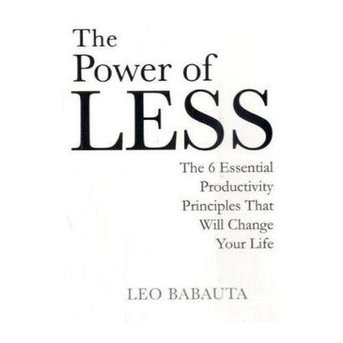 Power of Less - Wysyłka od 3,99 - porównuj ceny z wysyłką, oprawa broszurowa
