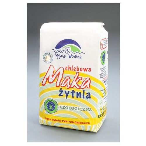 Eko Mega: mąka żytnia chlebowa typ 720 BIO - 1 kg - produkt z kategorii- Mąki