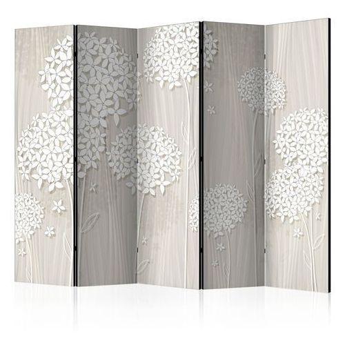 Parawan 5-częściowy - papierowe dmuchawce ii [room dividers] marki Artgeist