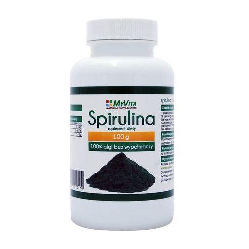 Spirulina platensis () 100g marki Myvita
