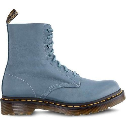 Dr martens 1460 pascal virginia pale teal virginia - buty glany, Dr. martens