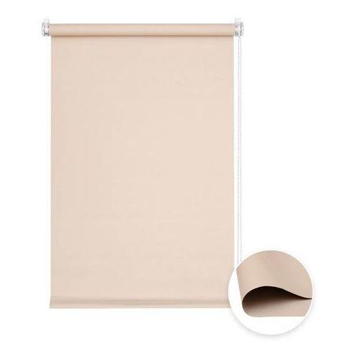 Roleta materiałowa bezinwazyjna, Przyciemniająca, Gotowa, BASIC, Beżowa, 60x150cm (4250558224120)