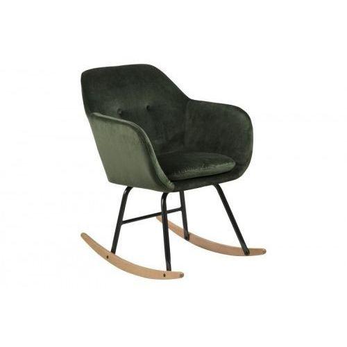 Fotel bujany emilia vic ciemny zielony marki D2