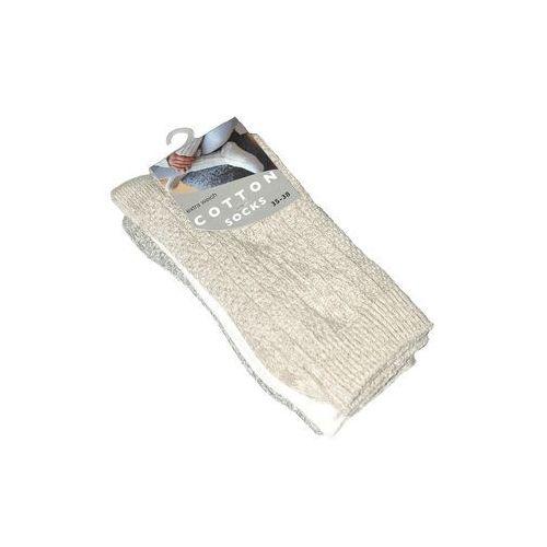 Skarpety cotton art.37907 damskie a'3 39-42, wielokolorowy, wik marki Wik