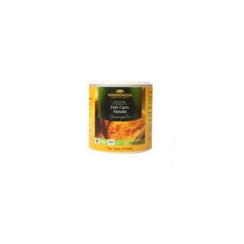 Cosmoveda Przyprawa do dań rybnych fish curry masala organiczna 80g (4032108129709)