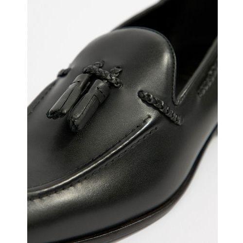 KG By Kurt Geiger Rochford Tassel Loafers - Black