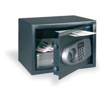 Meblowy sejf elektroniczny z otworem wrzutowym bt z1 marki Comsafe