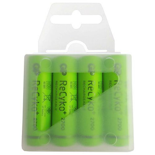 4 x akumulatorki r6/aa  recyko+ 2700 series 2600mah (box) marki Gp