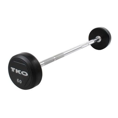 Sztanga prosta gumowana Rubber Straight Bar 17,5 kg TKO - 17,5 kg