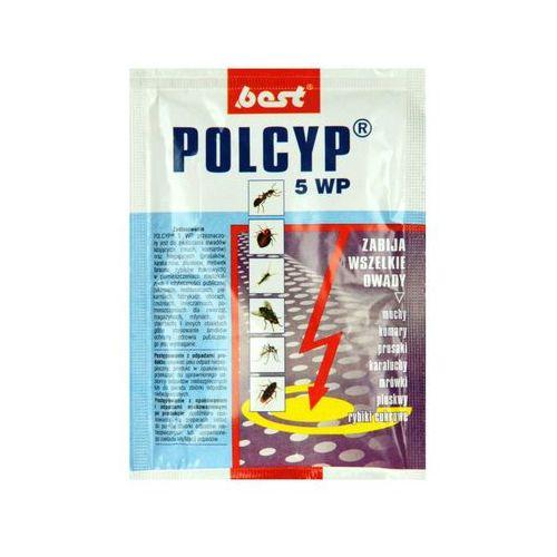 Best-pest Polcyp 5 wp 25g preparat na muchy, pluskwy, karaluchy, mrówki, rybiki. (5907486604065)