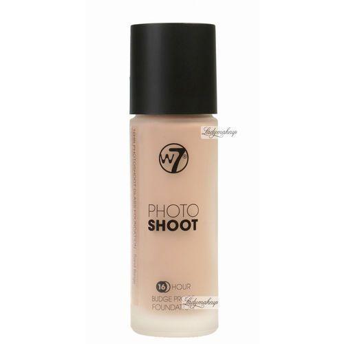 - photoshoot - 16 hour budge proof foundation - podkład - natural tan marki W7